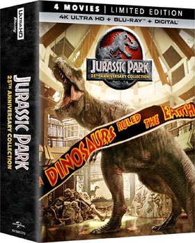 jurassic park 4k collection box